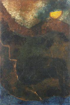Akbar Padamsee, Metascape, 1973