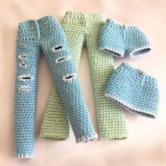 Pattern is in store for Kate's jeans - flair pants - little shorts & skirt #kindabamcrochet #doll#crochetdoll #dollclothes #crochetdollclothes #dollpattern #crochetdollpattern #amigurumi#amigurumidoll #crochetersofinstagram #dollmaker #amigurumi#amigurumidoll #handmade #handmadedoll #custom#customdoll