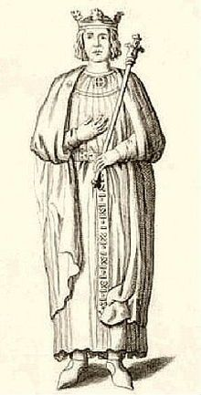 Henry the Young King (1155 - 1183). Son of King Henry II and Queen Eleanor of Aquitaine. He married Margaret of France and had one son who died young. He died aged 28.