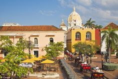 Cartagena, Columbia - Horse power: Being driven around by caleche - horse-drawn cart - is still a favoured way of viewing Cartagena