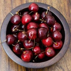 Cherry seeds require a period below freezing to stimulate germination.