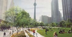 Toronto may get a glorious 21 acre downtown park. : TreeHugger http://www.treehugger.com/urban-design/toronto-may-get-glorious-21-acre-downtown-park.html