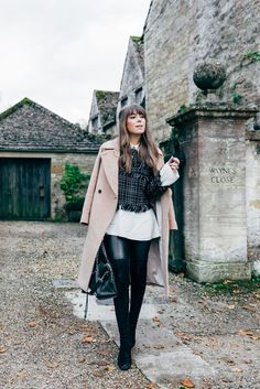 Black and White Tweed Top | Jenny Cipoletti of Margo & Me