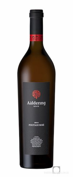 Wine Photography: Aaldering Pinotage Rosé 2014. www.bakkesimages.co.za South African Wine, Wine Photography, Sauvignon Blanc, Wines, Red Wine, Alcoholic Drinks, Bottle, Rose, Glass