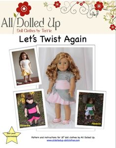 Lots of great patterns including free one for American Girl Dolls (free ones at very bottom)