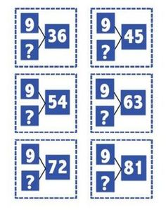 Number Bond FlashcardsEasily teach multiplication and division at the same time by having students find the missing numbers on the number bonds...