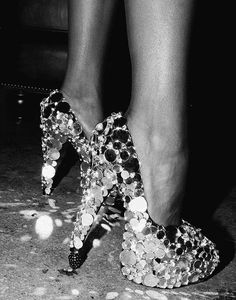 Wonderful Sequin Pumps - Nothing like. Little glitte! Can I say show stopper?