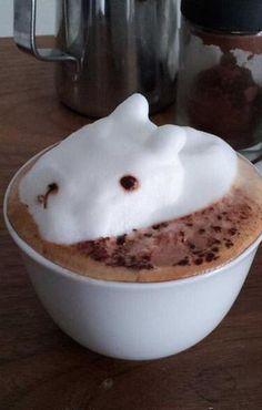 3D Foam Latte Art