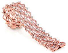Diamonds Jewelry bezel and link pink diamond bracelet Pink Diamond Bracelets, Bangle Bracelets With Charms, Gold Bangle Bracelet, Diamond Jewelry, Bangles, Graff Jewelry, Silver Jewellery, Bracelet Making, Jewelry Gifts