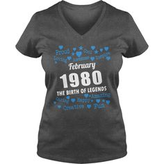 FEBRUARY 1980 the birth of legends Shirts, FEBRUARY 1980 Birthdays T-shirt, Born FEBRUARY 1980, FEBRUARY 1980 the birth of legends, 1980s Shirts, Born in FEBRUARY 1980 Birthdays, FEB 1980 Hoodie #gift #ideas #Popular #Everything #Videos #Shop #Animals #pets #Architecture #Art #Cars #motorcycles #Celebrities #DIY #crafts #Design #Education #Entertainment #Food #drink #Gardening #Geek #Hair #beauty #Health #fitness #History #Holidays #events #Home decor #Humor #Illustrations #posters #Kids…