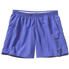 "Patagonia Women's Baggies Shorts 5"" ❤ liked on Polyvore featuring patagonia"