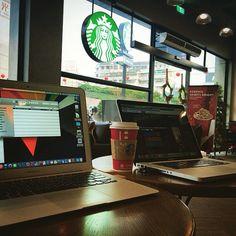 老友開槓兼軟體分享 #Apple #Macbook #MacbookPro #MacbookAir #Starbucks #Friends