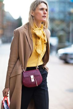 Yellow Blouse On Pinterest 33