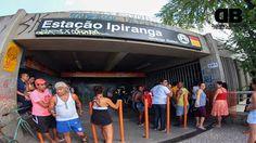 Um vigilante de uma empresa contratada pela Companhia Brasileira de Trens…