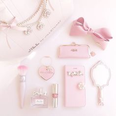 Love the cute pink girly stuff Pink Love, Cute Pink, Pretty In Pink, Baby Pink Aesthetic, Princess Aesthetic, Girly Girl, Pink Girl, Looks Kawaii, Mode Rose