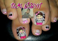 Manicure Y Pedicure, Nail Art, Nails, Beauty, Nail Design, Make Art, Pretty Toe Nails, Simple Toe Nails, Finger Nails