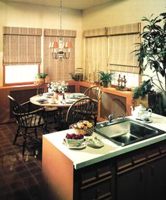 1980s Kitchen and Dining Decor