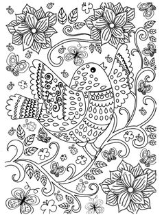 Coloring Book For Adults Pattern Coloring Pages, Free Adult Coloring Pages, Pencil Drawings, Zentangle, Coloring Books, Painting, Diy Crafts, Patterns, Cute