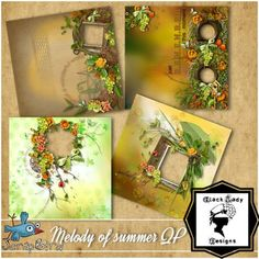 Melody of summer - Album QP by Black Lady Designs