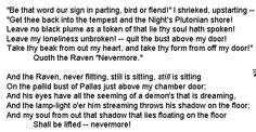 The raven- Edgar Allan Poe