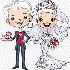 Wedding Art, Wedding Couples, Digital Invitations, Wedding Invitations, Wedding Couple Cartoon, Wedding Illustration, Wedding Gift Boxes, Light Of My Life, Cute Drawings