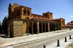 Fotos de: Ávila - Románico - Basílica de San Vicente