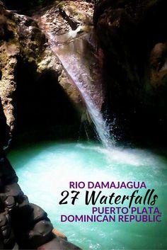 Trekking the 27 Waterfalls of Rio Damajagua in the Dominican Republic