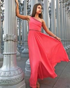 021b88f1e BCBG Max Daniele Formal Dress (size 4 coral pink) BRAND NEW WITH TAGS #