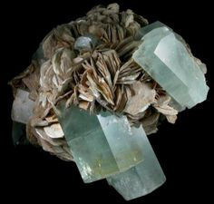 Mineral Specimen No. 59506: Beryl var. Aquamarine from Shigar Valley, Skardu District, Gilgit-Baltistan (Northern Areas), Pakistan.  This mineral specimen of Beryl var. Aquamarine from Shigar Valley, Skardu District, Gilgit-Baltistan (Northern Areas), Pakistan is available for sale from John Betts - Fine Minerals, mineral dealer located in New York City, New York.Follow on Facebook  To purchase mineral specimens from this site click on this link to go to online order form.  Detailed…