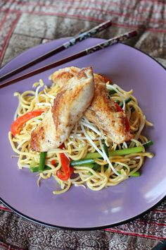 Pan Seared Monk Fish in Stir Fried Laksa Noodles monkfish recipes Fish Recipes Pan, Seafood Recipes, Asian Recipes, Cooking Recipes, Ethnic Recipes, Filipino Recipes, Cooking Tips, Monkfish Recipes, Monk Fish