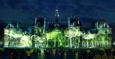 Naziha Mestaoui projecteert virtuele bomen in de stad, die groeien op het ritme van de hartslag van bezoekers. Een smart forest, midden in de stad. Voor elke virtuele boom wordt, ergens ter wereld, een echte boom geplant