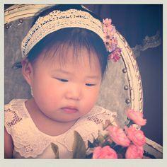 Cintillo Macramé, flower girl, vestidos para matrimonios de niñitas