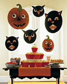 scary halloween crafts ideas for kids and diy halloween party ideas at http hanging decorationshome decorationcrepe paper