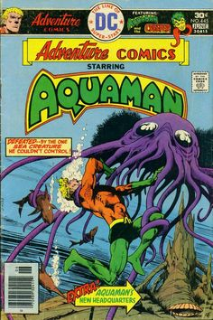 Adventure Comics 445 - Aquaman - Aparo