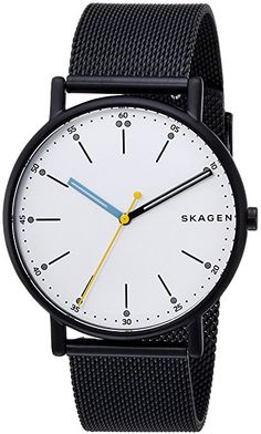 Skagen Men's 'Signatur' Quartz Stainless Steel Casual Watch, Color:Blue (Model: SKW6376) http://amzn.to/2Cf6Tq1