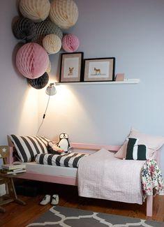 Ein Mädchentraum! Das neue Bett in Pantone Rose für das grosse Mädchen!