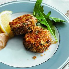 Use panko bread crumbs and a touch of Dijon to create perfectly flaky and tender Classic crab cakes from Chatelaine.com.