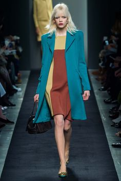 Bottega Veneta Fall 2015 Ready-to-Wear Collection Photos - Vogue Runway Fashion, Fashion Show, Fashion Design, Fashion Trends, Milan Fashion, Fashion 2015, Fashion Weeks, Colorful Fashion, Retro Fashion
