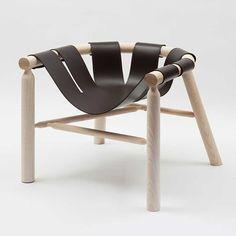 Un asiento suspendido con calidades visuales y funcionales