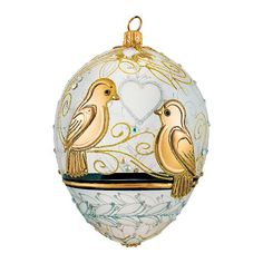 The Crystal Egg Ornament