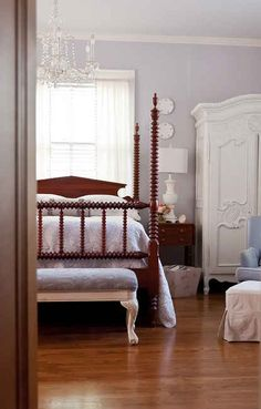 Violet Mist by Benjamin Moore   How 14 Popular Paint Colors Look In Actual Rooms