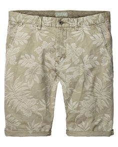 Flower print shorts | Short pants | Men Clothing at Scotch & Soda