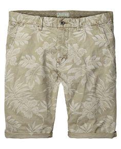 Flower print shorts | Short pants | Men Clothing at Scotch & Soda