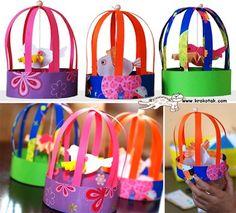 paper bird cages