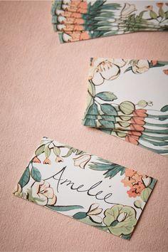 Illustrative Place Cards