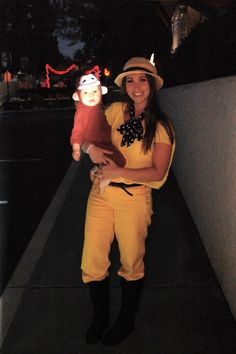 Curious George And The (Wo)man In The Yellow Hat