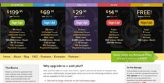 30 Great Pricing Table Designs