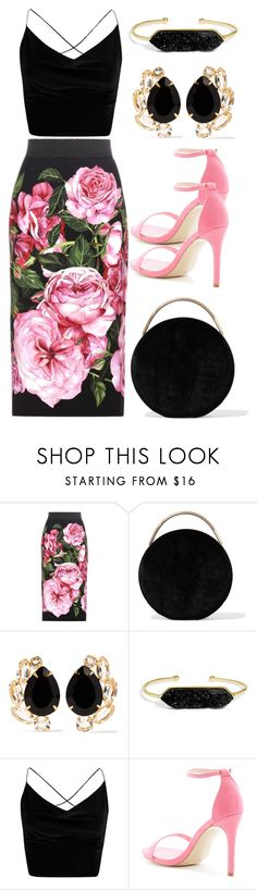 """New # 3.73"" by cami-li ❤ liked on Polyvore featuring Dolce&Gabbana, Eddie Borgo, Bounkit, BaubleBar and Boohoo"