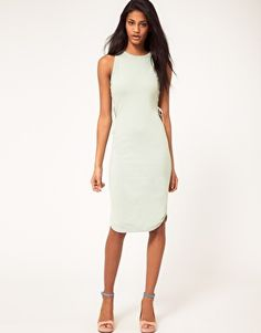 ASOS Dress - love the mint green color!
