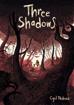 French graphic novel. Always wanted to read Pedrosa as we heard so many good words about him. Three shadow-horsemen appear and Louis and Lise, the parents, believe they have come for their son. Louis leaves the house with his son to flee the death.